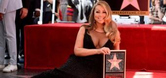 Марая Кери със звезда на алеята на славата