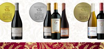 Шест медала за Катаржина Естейт на San Francisco International Wine Competition