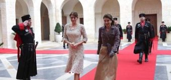 Десислава Радева впечатли Кралица Рания ал-Абдула с елегантност и финес
