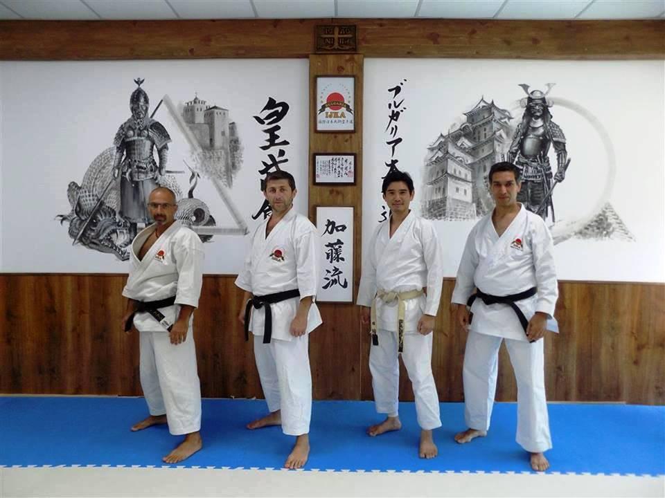Главен инструктор на Международната Японска Карате Асоциация ...